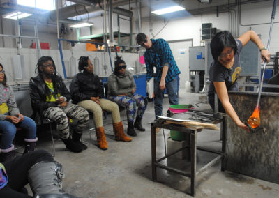 Glassblowing with Helen Lee