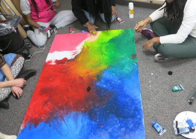 Students Painting 2